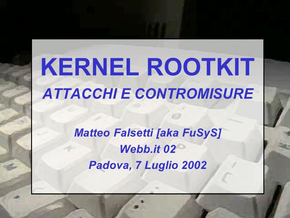 ATTACCHI E CONTROMISURE Matteo Falsetti [aka FuSyS]